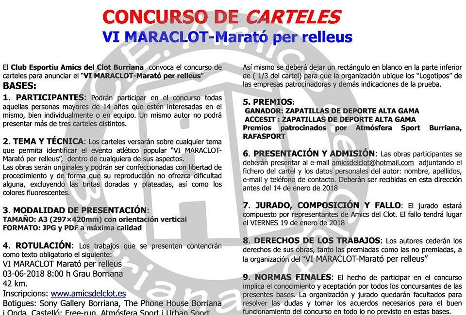 Concurs de Cartells VI MARACLOT